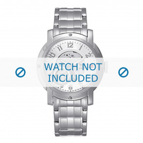 Tommy Hilfiger horlogeband TH-43-1-14-0696 - TH679000896 / 1710158 Staal Zilver 21mm