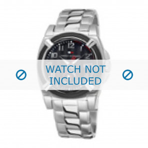 Tommy Hilfiger horlogeband TH-50-1-14-0718 - TH679000902 / 1790636 Staal Zilver 22mm
