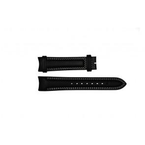 Breil horlogeband TW0678 Leder Zwart 22mm