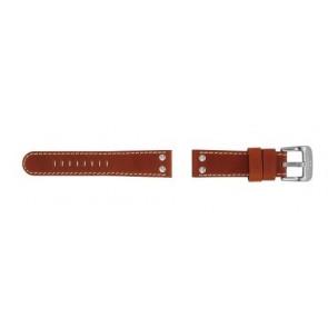 TW Steel horlogeband TW24 Leder Bruin 22mm