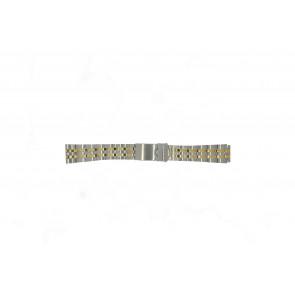 Morellato horlogeband U0220184 Staal Zilver 18mm