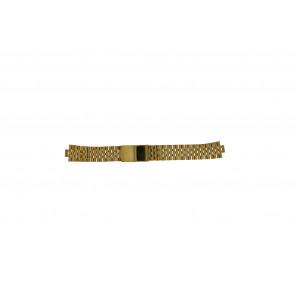 Morellato horlogeband U0492125 Staal Goud (Doublé) 18mm