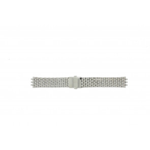 Pulsar horlogeband VX43-X043 Staal Zilver 20mm