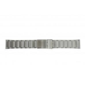 Horlogeband YI20 Staal Zilver 24mm