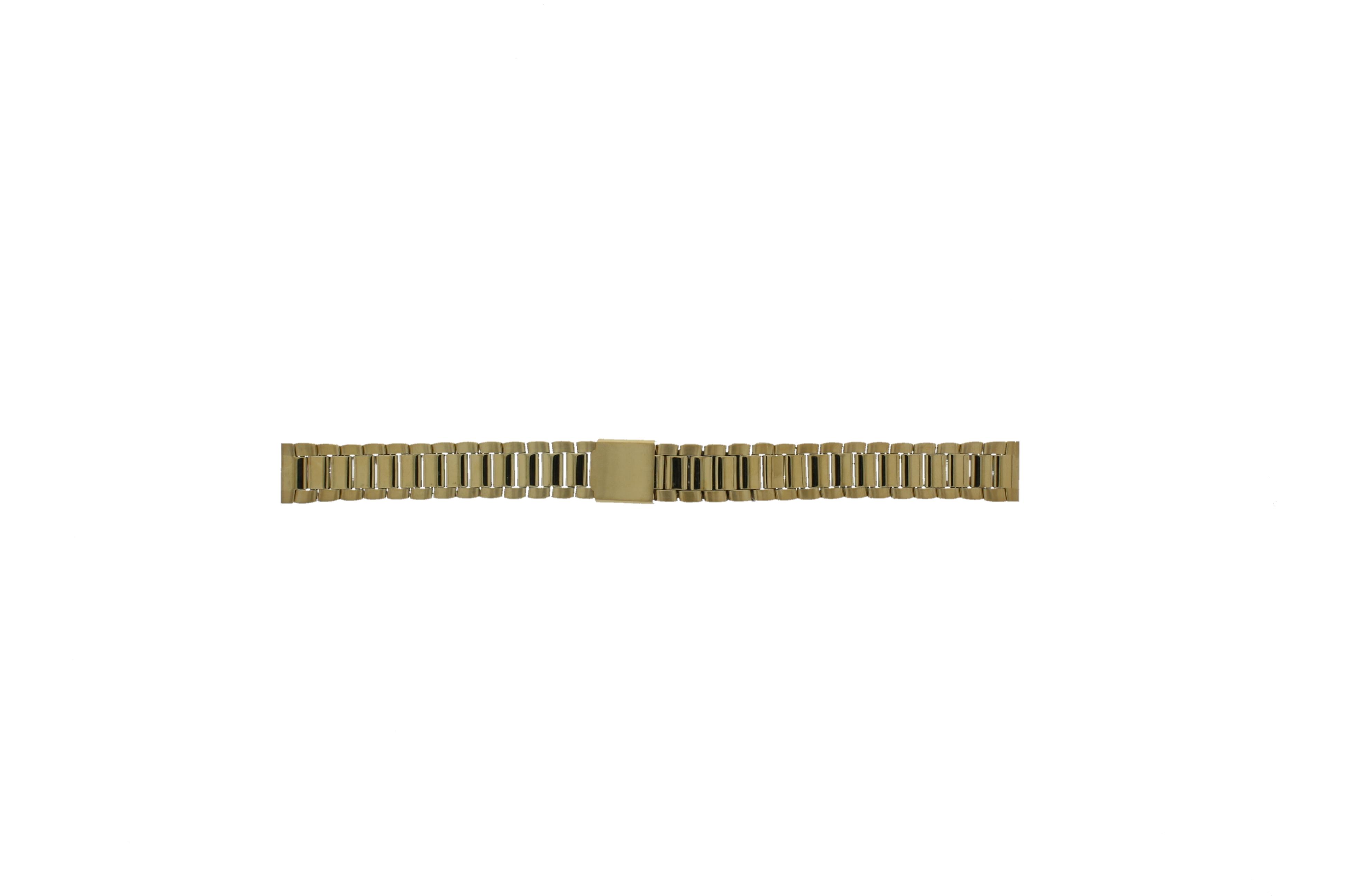 Morellato horlogeband D0152025 Staal Goud (Doublé) 14mm