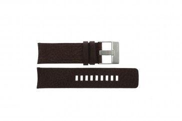 Diesel horlogeband DZ-4104 Leder Bruin 25mm