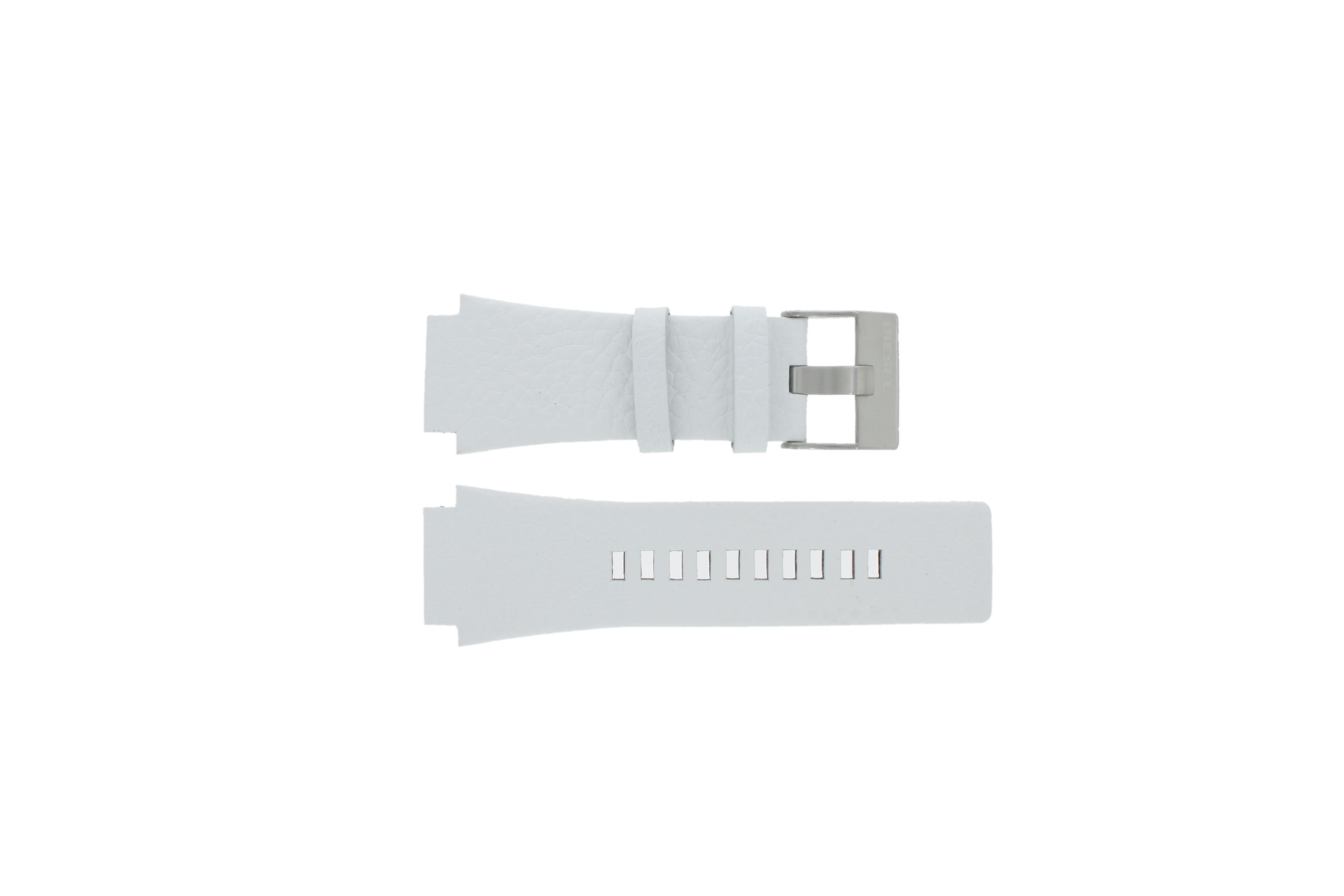 Diesel horlogeband DZ1449 Leder Zwart 25mm