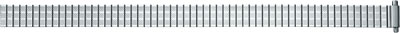 Horlogeband Staal 10mm - 14mm Zilver PVK EC615