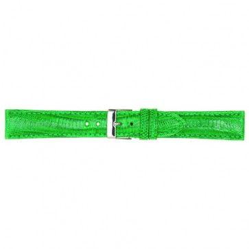 Lichtgroen lederen horlogeband 18mm PVK-564