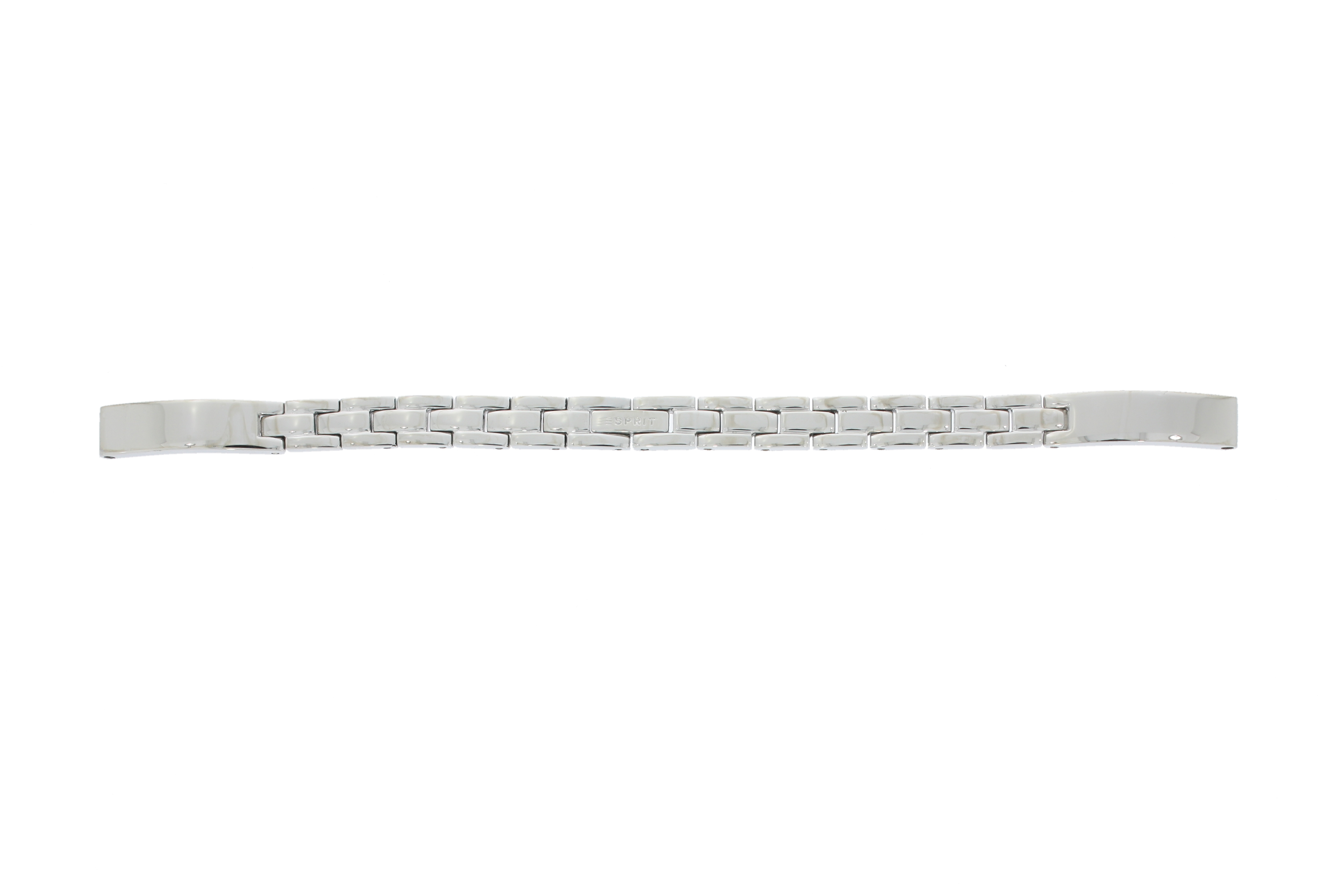 Esprit horlogeband 107632-ES107632004-40S Staal Zilver 7mm