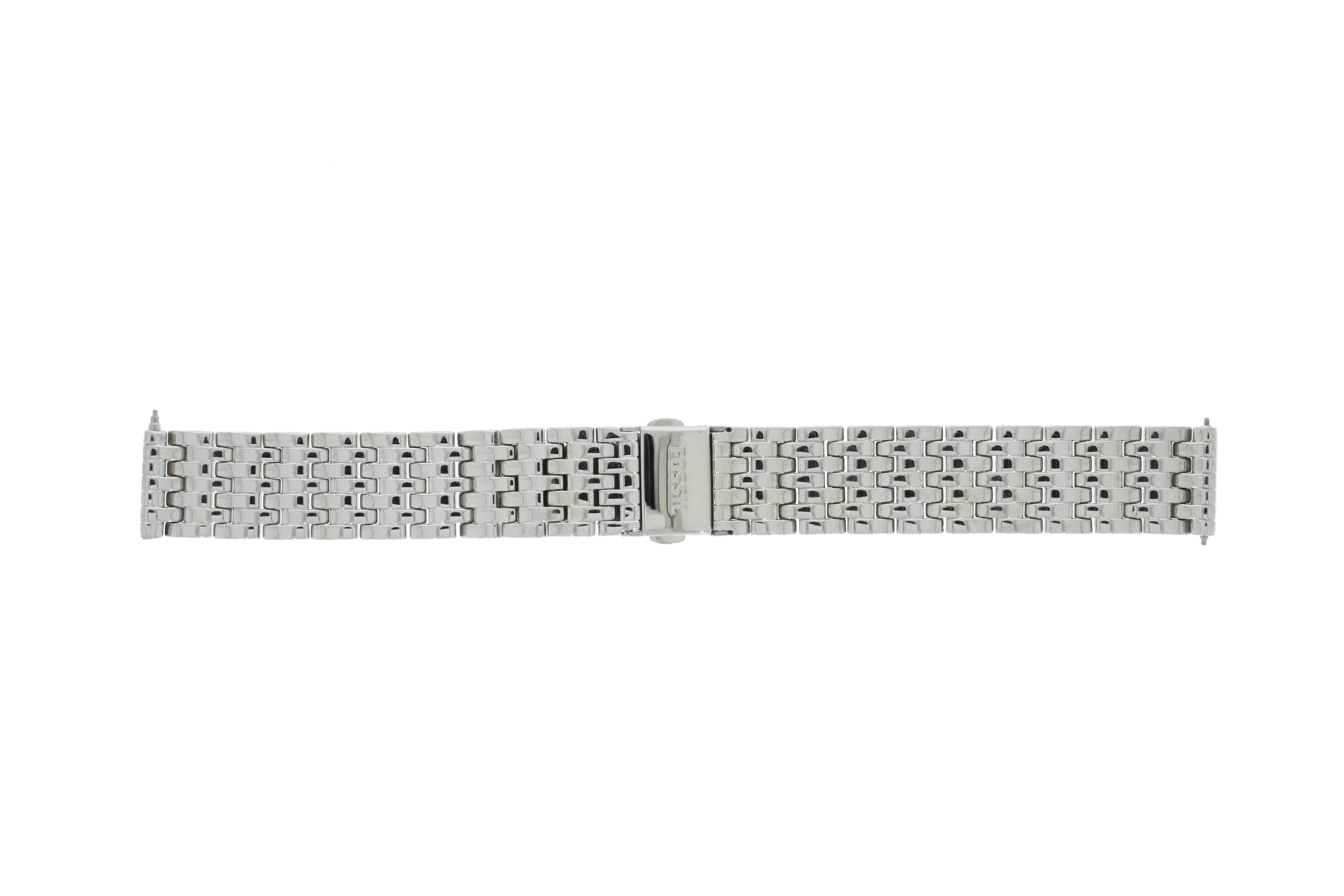 Fossil horlogeband ES-3712 Staal Zilver 16mm