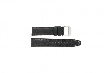 Festina horlogeband F16081/7 Leder Zwart 22mm