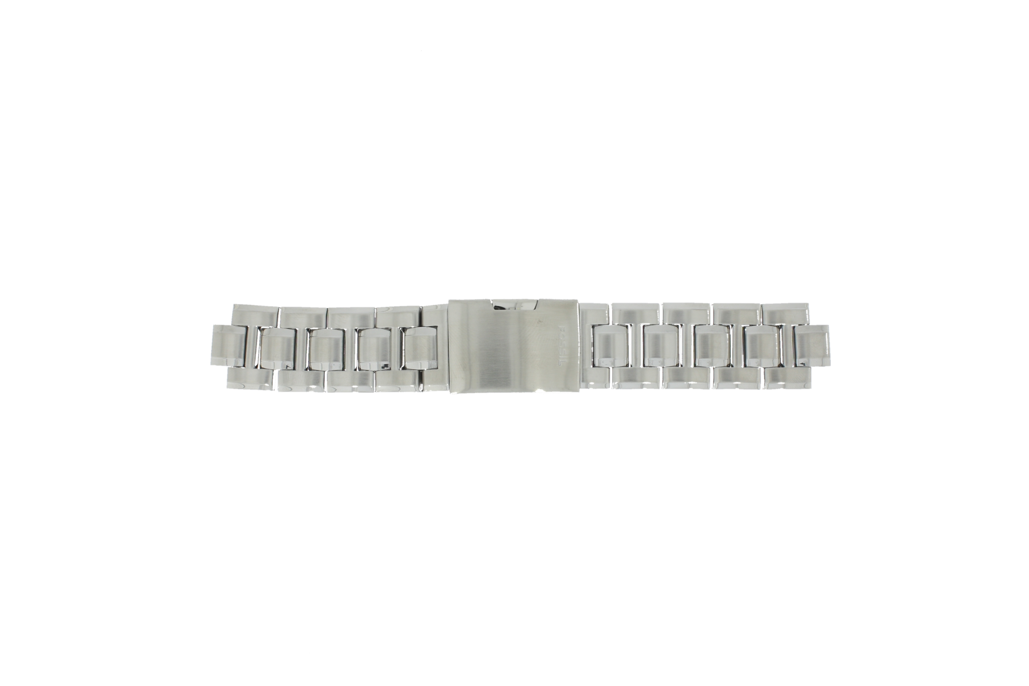 Fossil horlogeband CH-2566 Staal Zilver 11mm