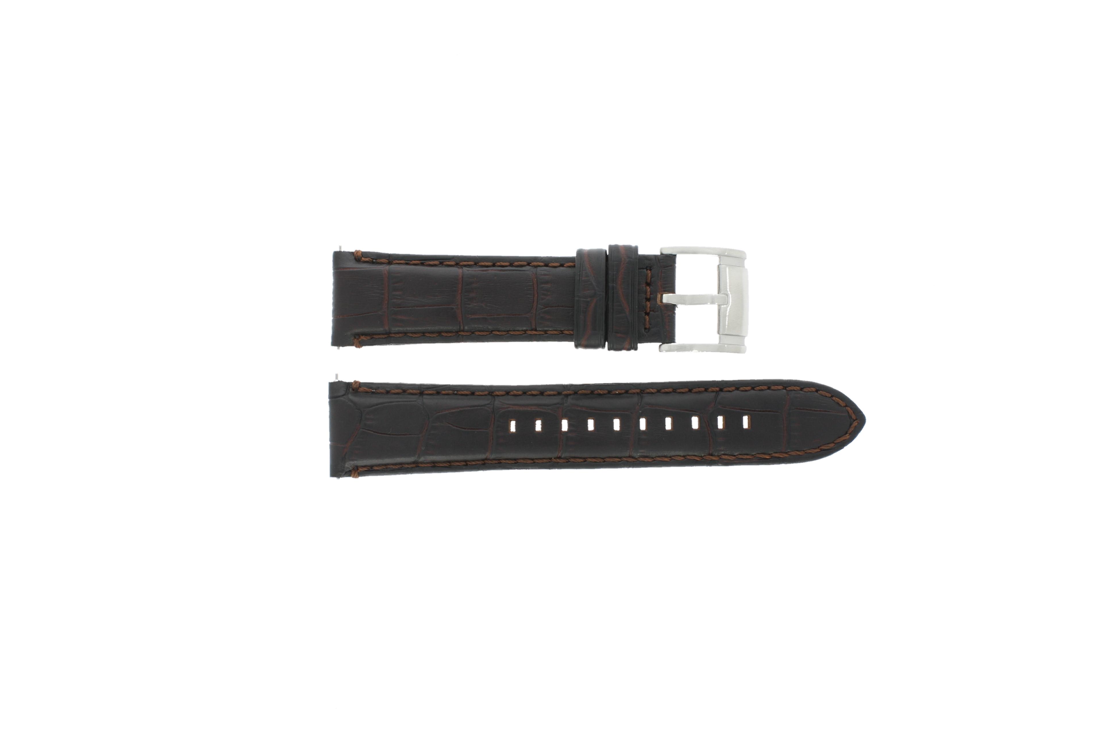 Fossil horlogeband FS-4672 Leder Bruin 22mm