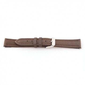 Echt lederen horloge band bruin 20mm