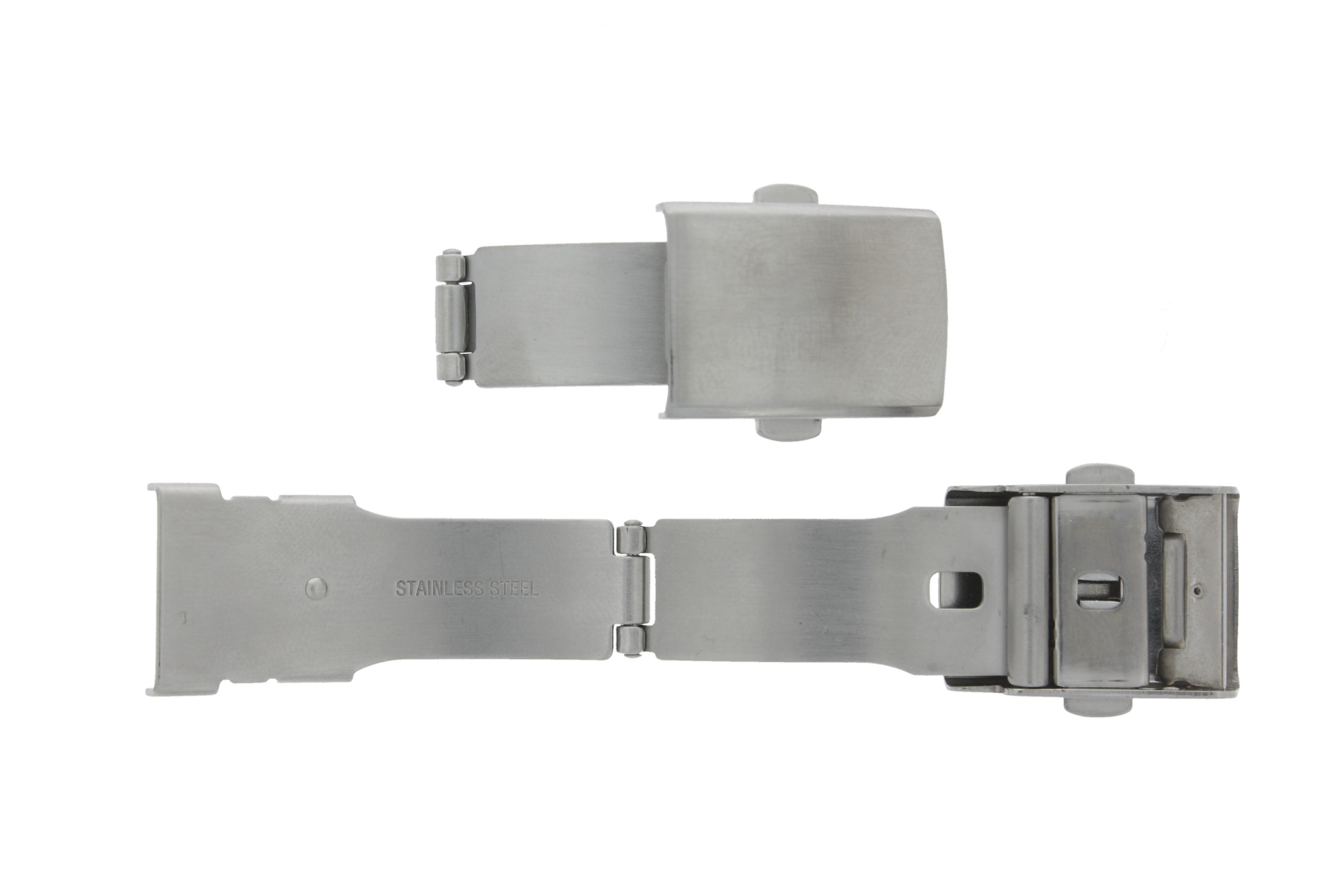 Klapsluiting HOSGDK geschikt voor leder band 16mm