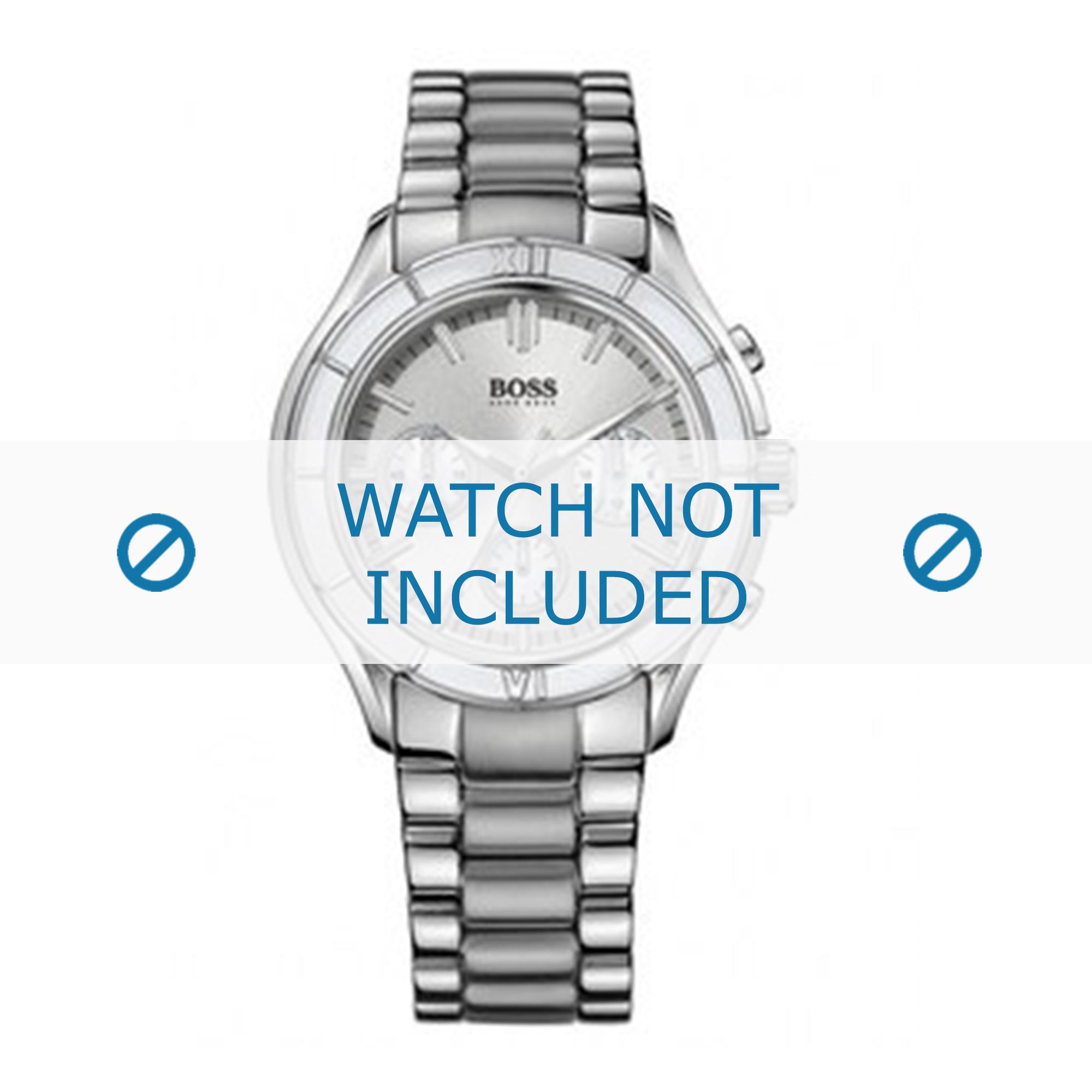 Hugo Boss horlogeband HB-105-3-18-2340 / 1502283 / HB659002351 Staal Zilver 20mm