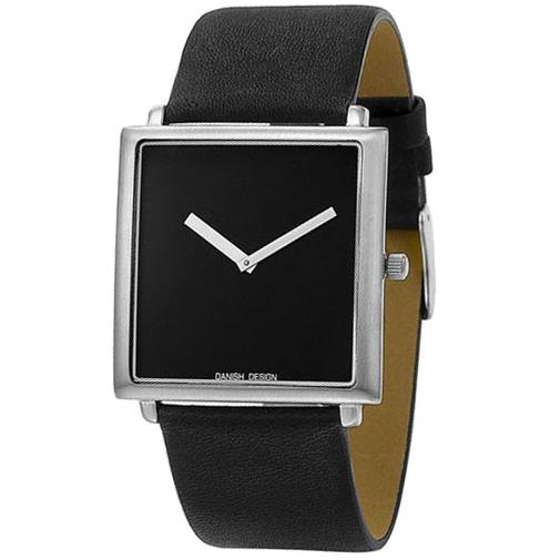 Danish Design horlogeband IV12Q654 Leder Zwart 27mm