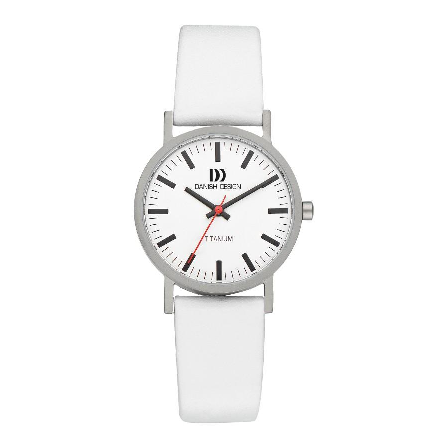 Danish Design horlogeband IV18Q199 Leder Wit 17mm