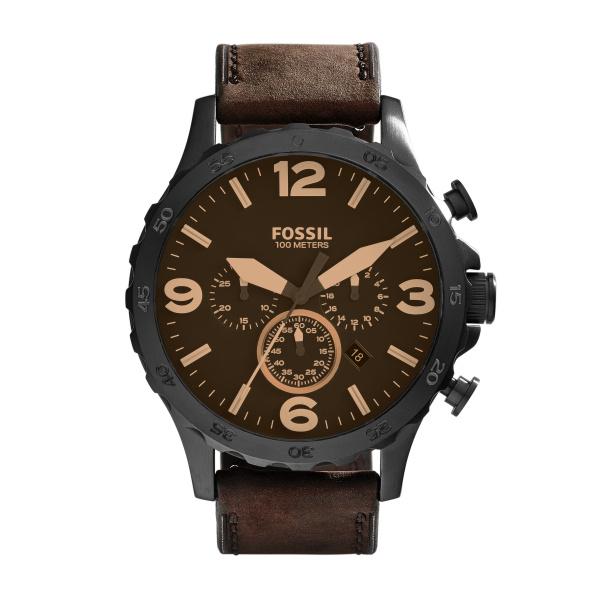 Fossil Nate JR1487 Analoog Quartz horloge Herenhorloge