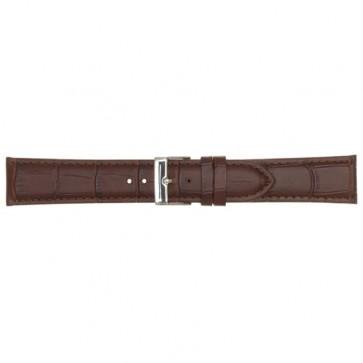 Leder horlogeband bruin 20mm PVK-469
