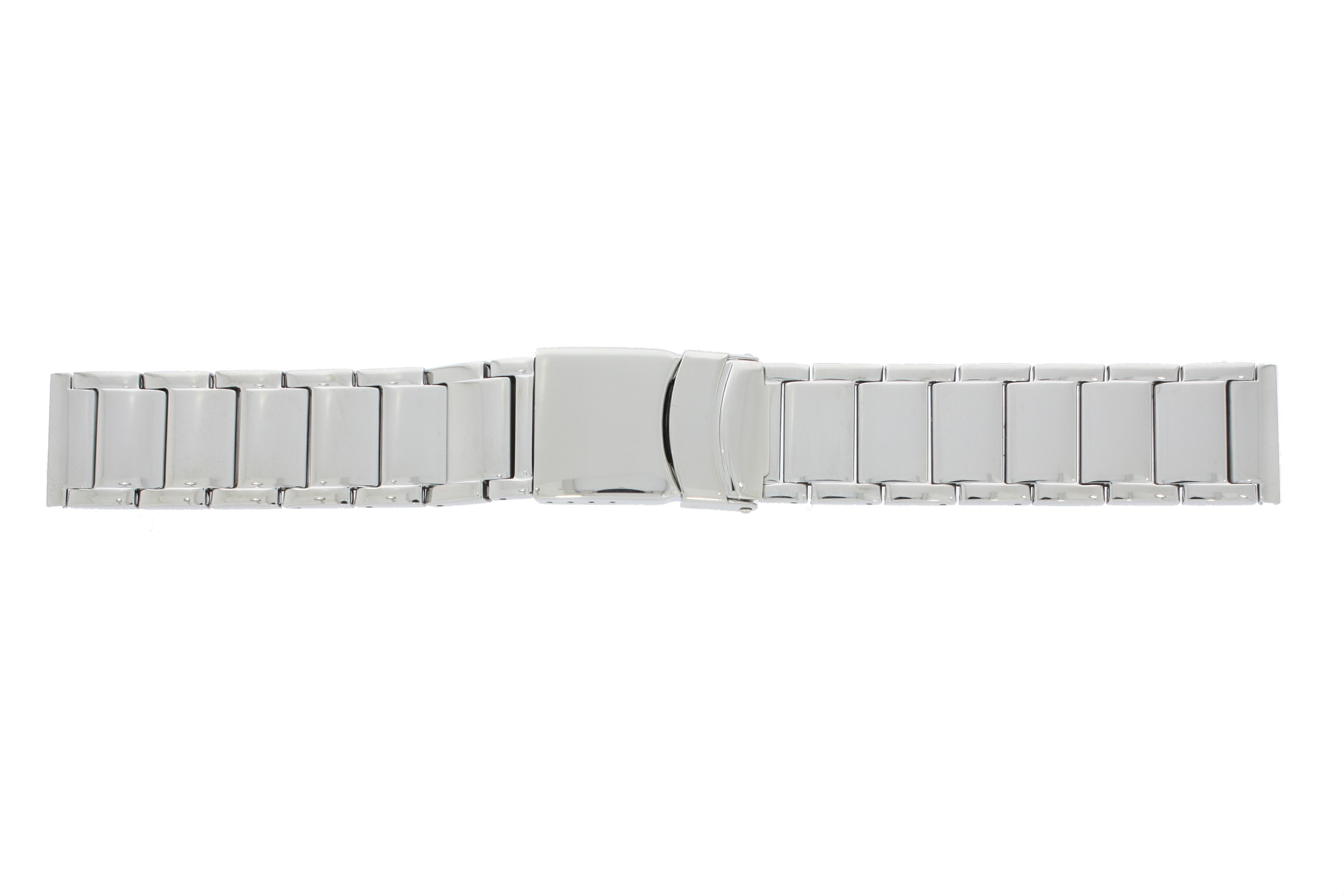 Stalen horlogeband glans 24mm PVK-4730