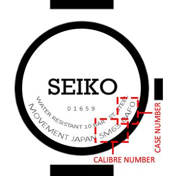 Aanvraag - Seiko horlogeband origineel