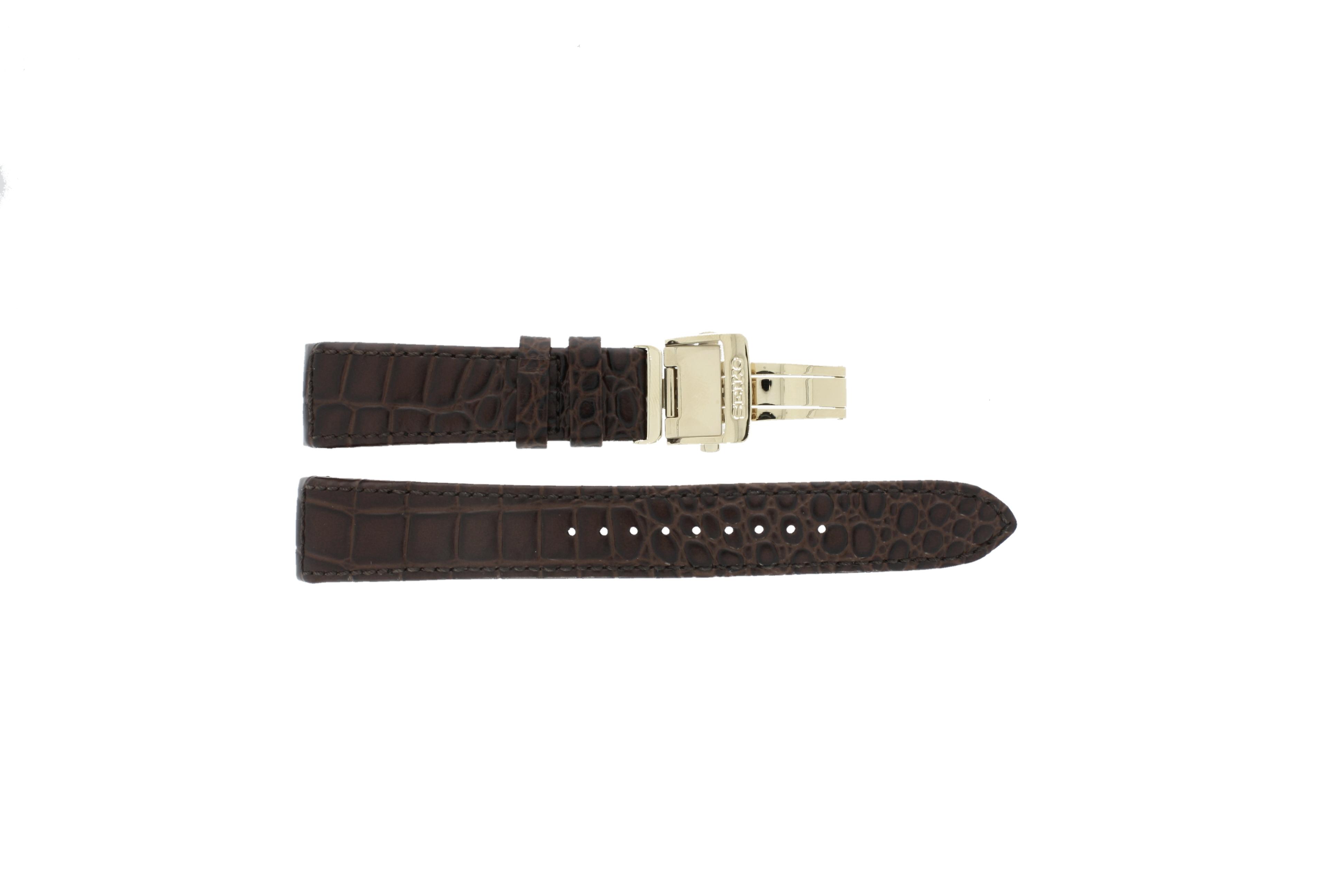 Seiko horlogeband met sluiting goudkleurig 5D88-0AA0 / SRX004P1