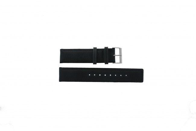 Skagen horlogeband 241LSLC Leder Grijs 22mm