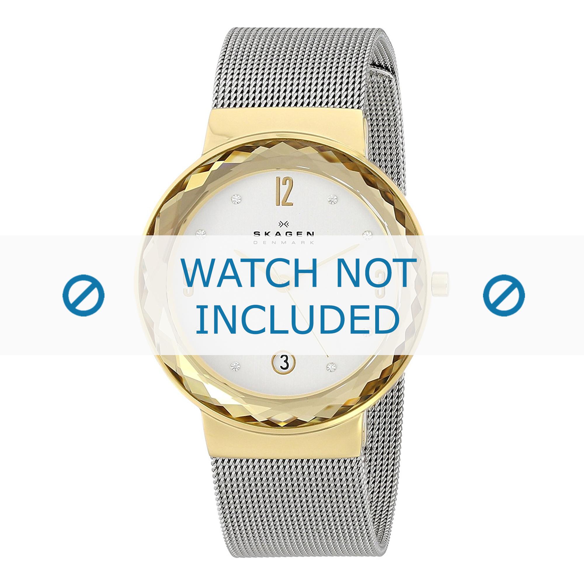Skagen horlogeband SKW2002 Staal Zilver
