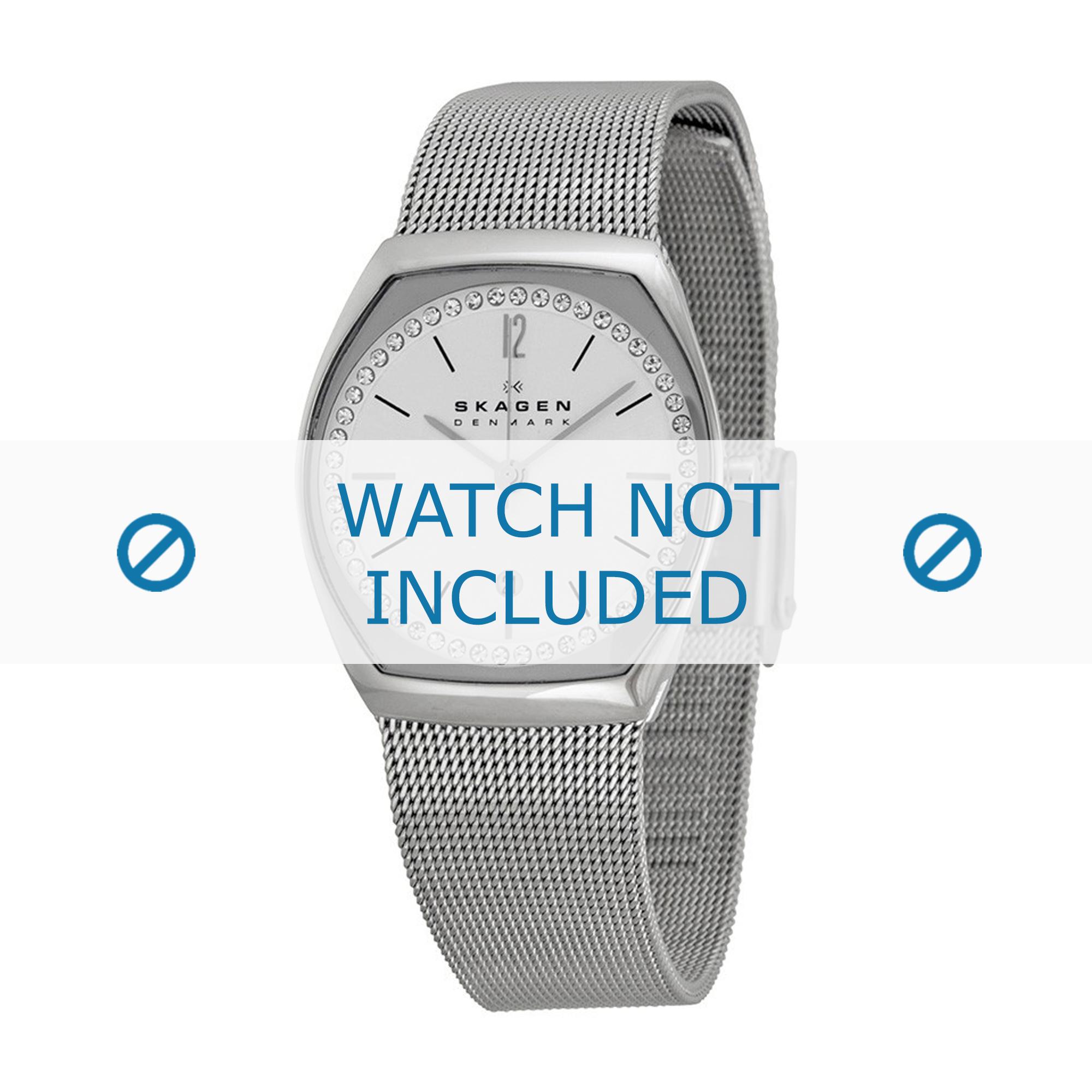 Skagen horlogeband SKW2049 Staal Zilver 14mm