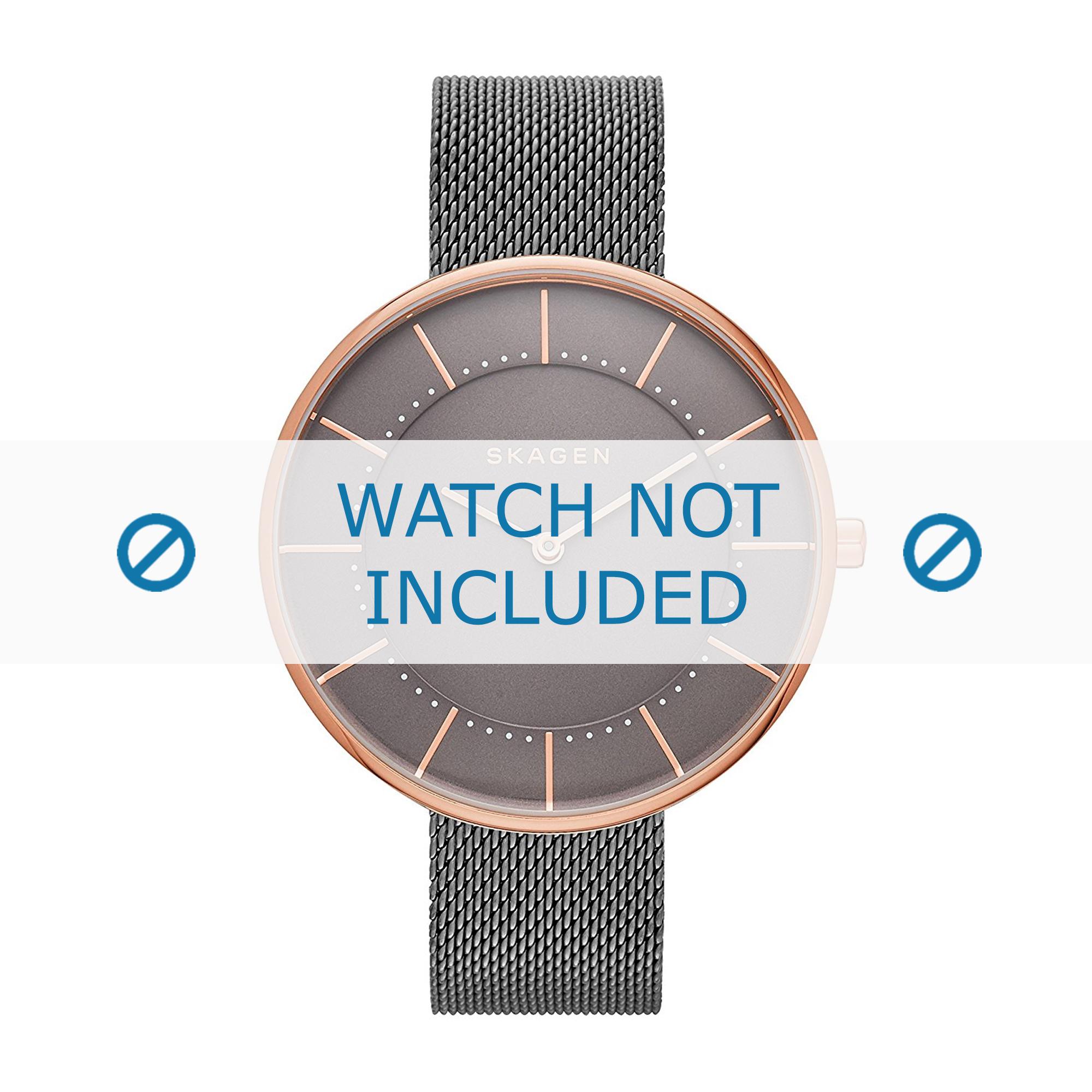 Skagen horlogeband SKW2584 Staal Grijs