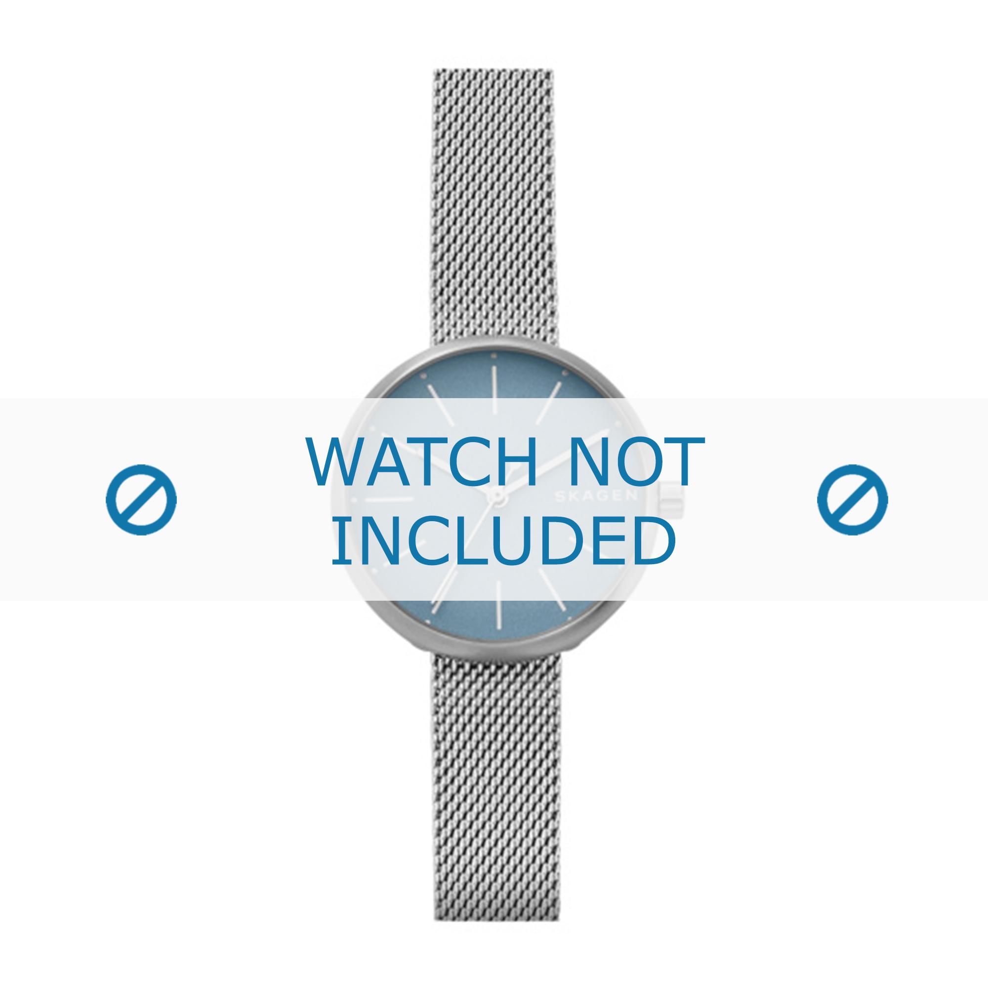 Skagen horlogeband SKW2622 Staal Zilver 14mm