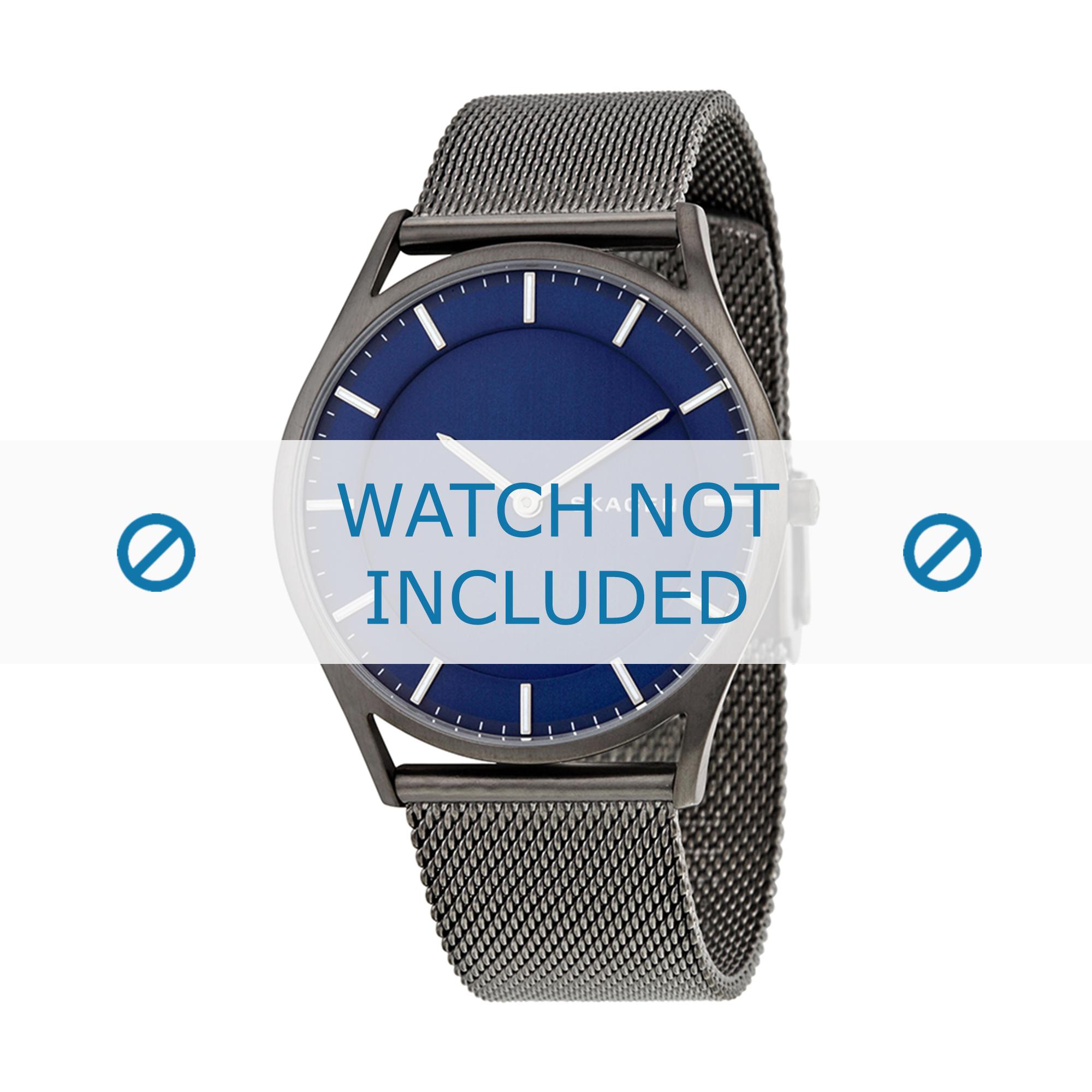 Skagen horlogeband SKW6223 Staal Grijs 22mm