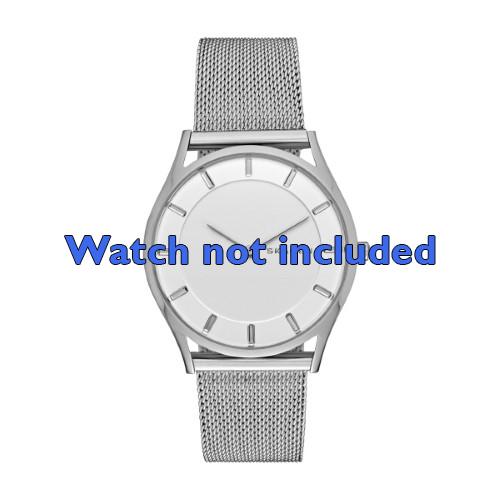 Skagen horlogeband SKW2342 Staal Zilver 20mm