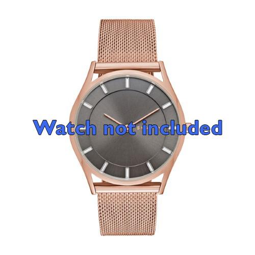 Skagen horlogeband SKW2378 Staal Goud (Rosé) 18mm