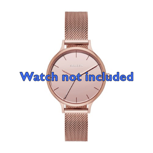 Skagen horlogeband SKW2413 Staal Rosé 12mm