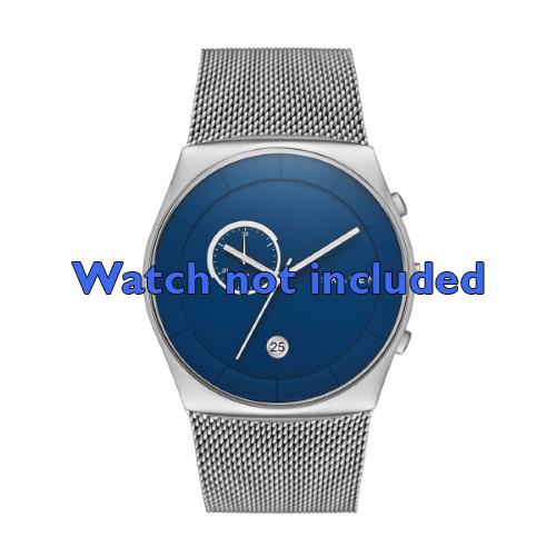 Skagen horlogeband SKW6185 Staal Zilver 30mm