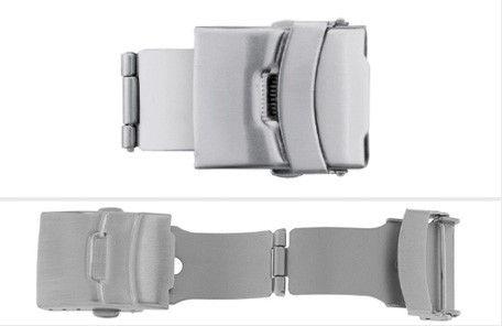Klapsluiting SL661 voor leren banden, 12,14,16,18,20 en 22mm