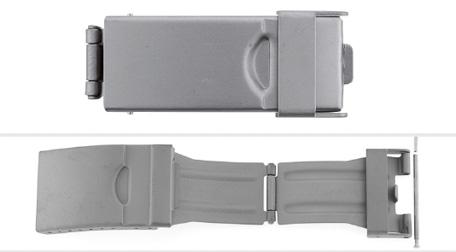 Titanium klapsluiting SL681M 16,18,20mm