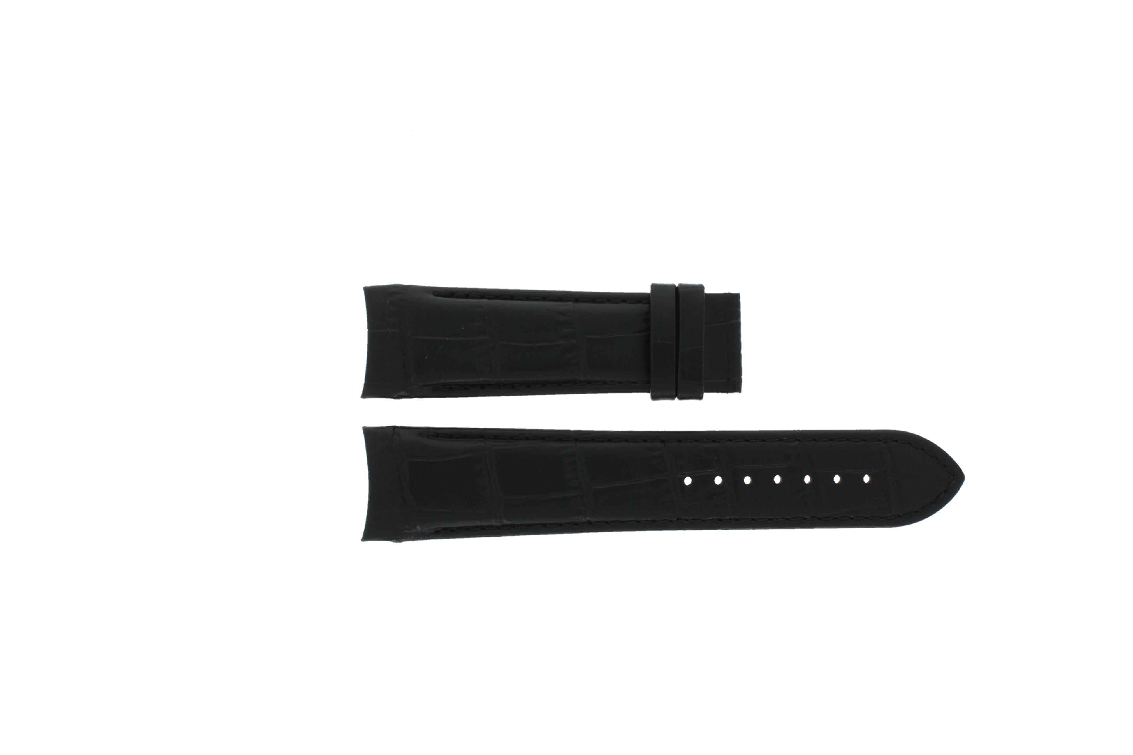 Tissot horlogeband T035.617.A T610027446 Leder Zwart 23mm