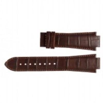 Tissot horlogeband L875-975 T610.451.2318 T610014559 Leder Donkerbruin 14mm