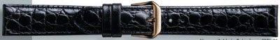 Buffalo kalf horlogeband zwart 18mm PVK-119XL