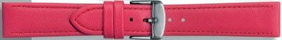 Echt leder donker roze / fuchsia 24mm PVK-283