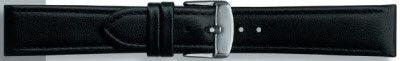 Echt leder zwart 22mm PVK-283
