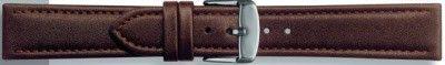 Echt leder donker bruin 18mm PVK-283