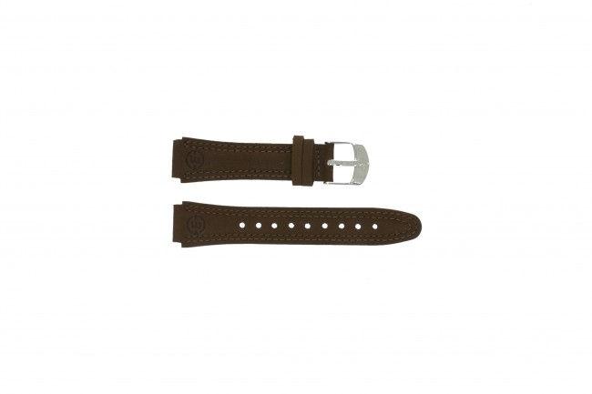 Timex horlogeband T47042 Leder Bruin 16mm