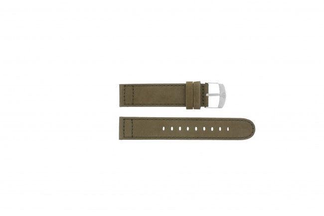 Timex horlogeband T49945 Leder Bruin 20mm