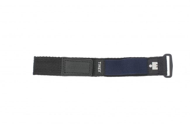 Timex horlogeband T62962 Velcro Zwart 20mm