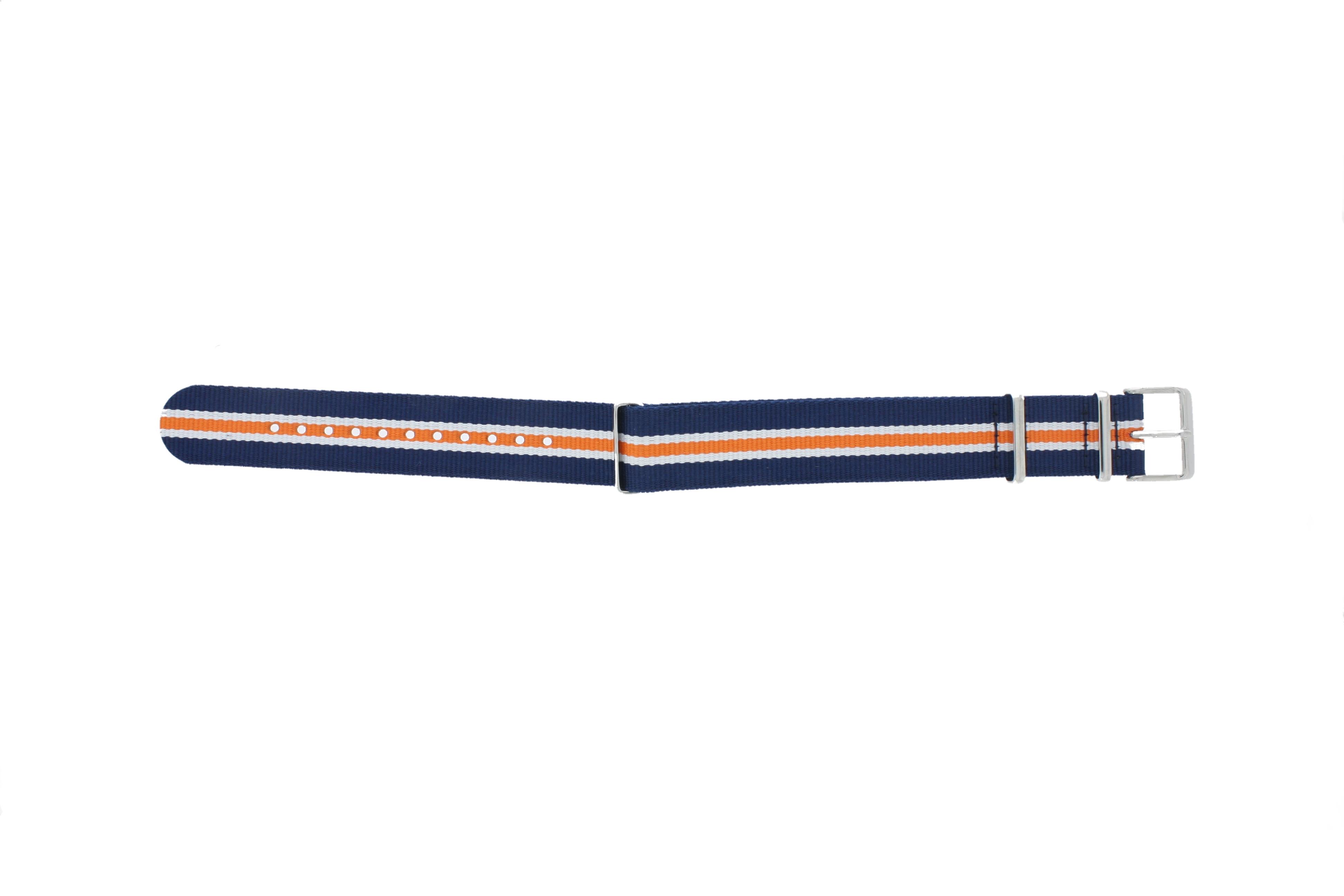 Timex horlogeband TW7C07200 Textiel Blauw 20mm